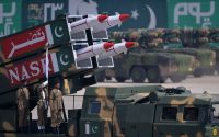 A military parade in Islamabad, earlier this year. Credit Aamir Qureshi/Agence France-Presse — Getty Images