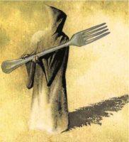 Comer mata