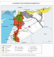 La guerra civil syrienne - noviembre 2015