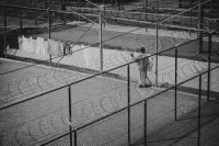The Guantánamo Bay detention facility in 2014. Credit Damon Winter/The New York Times