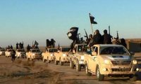 'There is discernible method in the Isis approach.' Islamic State fighters in Raqqa. Photograph: AP
