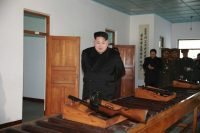 North Korean leader Kim Jong Un in Pyongyang in an undated photo released by North Korea's Korean Central News Agency on Dec. 10. (Kcna/Reuters)