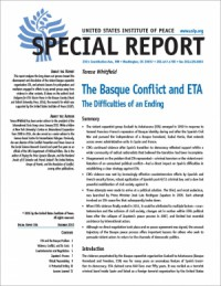 The Basque Conflict and ETA The Difficulties of an Ending