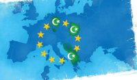 """Illustration on European """"no-go"""" muslim dominated zones by Linas Garsys/The Washington Times"""