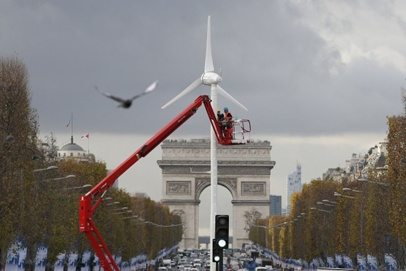 There's always room for renewable energy. Photographer: Patrick Kovarik/AFP/Getty Images