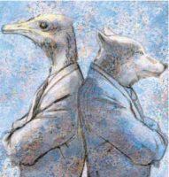 El lobo y el avestruz