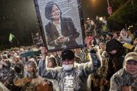 Tsai Ing-wen won a crushing election victory on Jan. 16 by getting surrogates to fire up the base. Credit Ulet Ifansasti/Getty Images