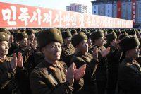 North Korean military personnel in Pyongyang last week. Credit Jon Chol Jin/Associated Press