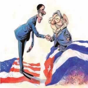 Obama da su bendición a los Castro