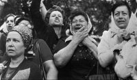 Relatives of missing persons in Argentina demonstrating in 1977 in Buenos Aires. Credit Associated Press