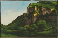 Rocks at Mouthier Gustave Courbet 1819-1877