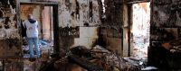 Médecins sans frontières (MSF) dans un de ses hôpitaux dévastés au mépris des accords internationaux. © AFP / NAJIM RAHIM