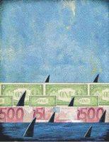 Nadando entre tiburones