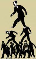 Arriba la gente, abajo los políticos