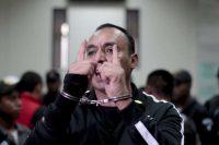 Byron Lima Oliva en un tribunal de Ciudad de Guatemala en 2014 Saul Martinez/European Pressphoto Agency.