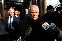 Jaroslaw Kaczynski, the leader of Poland's Law and Justice party, in Warsaw on Feb. 5. (Marcin Wziontek/REX/Shutterstock via Associated Press)