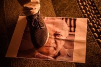 An image of Fethullah Gulen during a July rally in Istanbul in support of President Recep Tayyip Erdogan. Ozan Kose/Agence France-Presse — Getty Images
