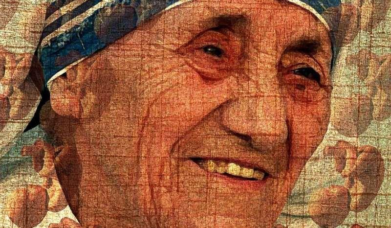 Illustration on Mother Teresa and saving unborn lives by Alexander Hunter/The Washington Times