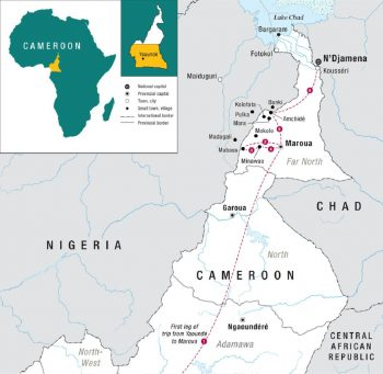 Cameroon's Far North district. (Click to see full map)