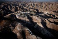 Ramat Shlomo, an Israeli settlement in the West Bank, 2009. Paolo Pellegrin/Magnum Photos.