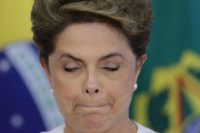 President Dilma Rousseff was ousted from office after her impeachment trial in Brazil's Senate. AP