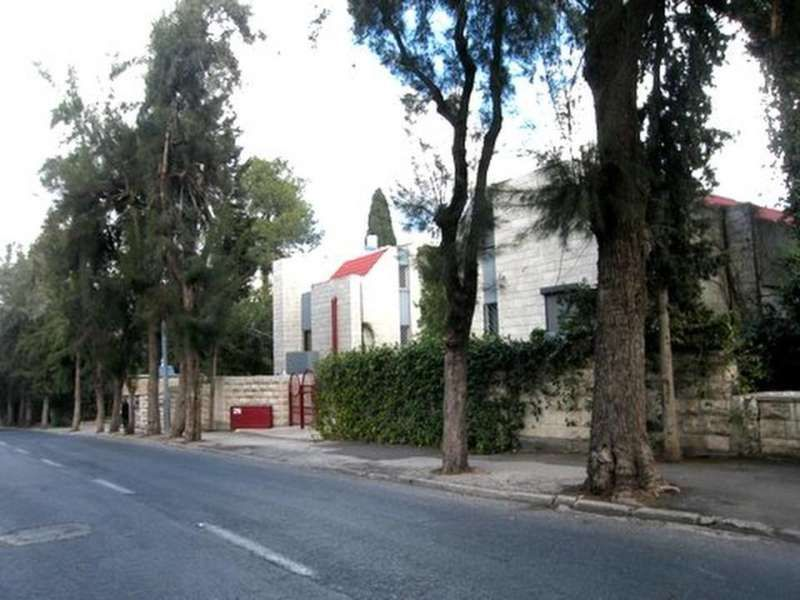 A quiet street in Jerusalem's Beit Hakerem neighborhood, where the first community building went up 90 years ago.