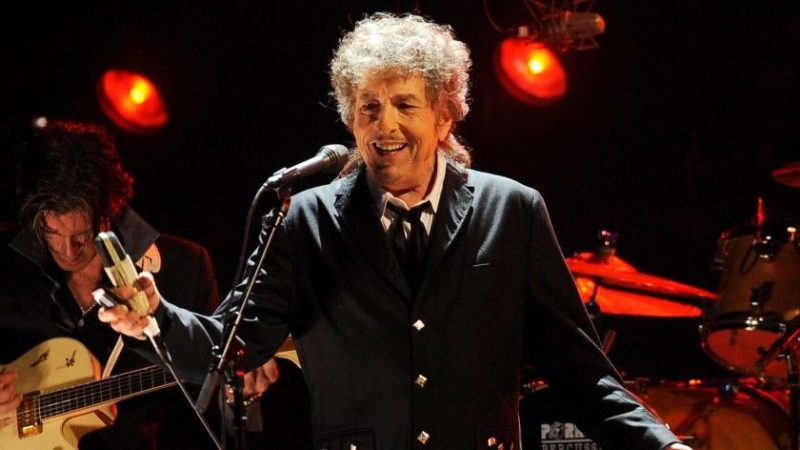 Bob Dylan performs in Los Angeles on Jan. 12, 2012. Dylan was named the winner of the 2016 Nobel Prize in literature on Thursday, marking the first time the prestigious award has been bestowed upon someone seen primarily as a musician. (Chris Pizzello / Associated Press)