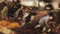 Parábola de los Ciegos. Pintura de Breughel el Viejo.