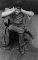 Bob Dylan, New York, 1962. Photo John Cohen. Getty Images.