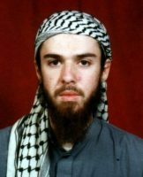 John Walker Lindh, in a photo taken while he was studying at a madrasa in Pakistan, before he joined the Afghan Army in 2001. Associated Press