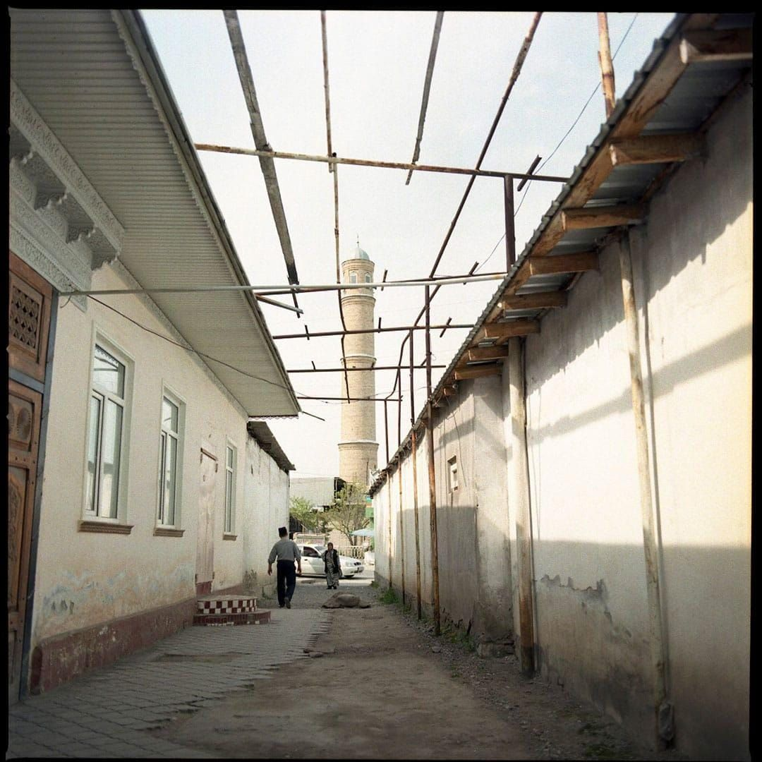 Mosque in an Uzbek mahalla, March 2016. CRISIS GROUP/Julie David de Lossy