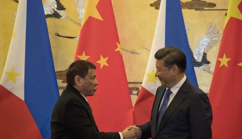 In return for this abrupt reversal of long-standing Philippines policy regarding the South China Sea, Beijing is believed to have offered Manila trade deals worth $13 billion. Photo by Getty Images.