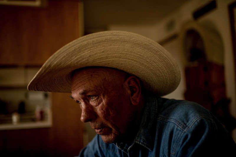 Ed Ashurst at his ranch. Tomás Munita for The New York Times