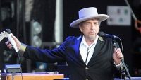 Bob Dylan performs in Carhaix, France, in 2012. (David Vincent / Associated Press)