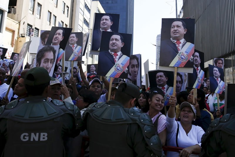 Those sectors most helped by Hugo Chavez's policies still support Maduro, but for how long? Carlos Garcia Rawlins/Reuters