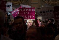 Simpatizantes de Donald Trump en un evento en New Hampshire el viernes Credit Damon Winter/The New York Times