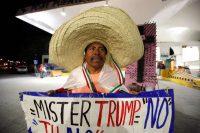 Une caricature? Peut-être pas tant que cela si Donald Trump met réellement à exécution sa menace de construire un mur à la frontière mexicaine, comme il l'a promis dans sa campagne électorale. Jose Luis Gonzalez/Reuters