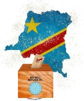 The Putting Off the Congo Elections Illustration by Greg Groesch/The Washington Timesof a hasty Congo election