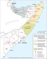 Map of Somalia. CRISIS GROUP