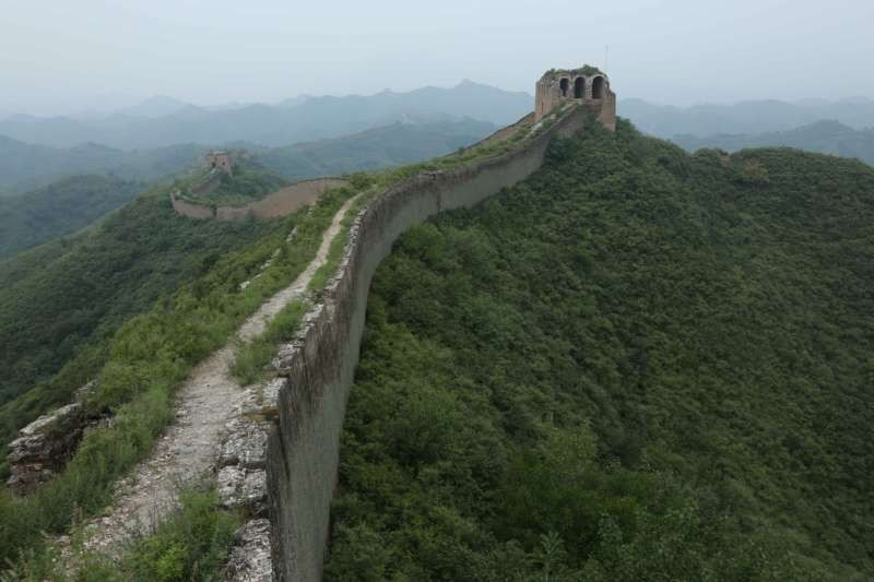 The Great Wall of China, a series of fortifications and watchtowers 13,710 miles long, was built over centuries, from the third century B.C. to the 17th century to protect China's northern border and fend off invaders. Credit Robb Kendrick for The New York Times