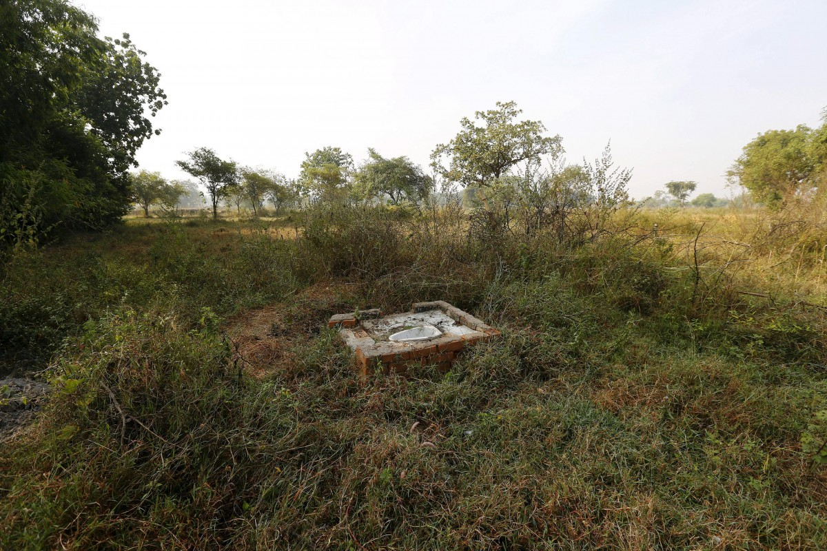 Open defecation spot in rural Chhattisgarh, central India. Adnan Abidi/Reuters