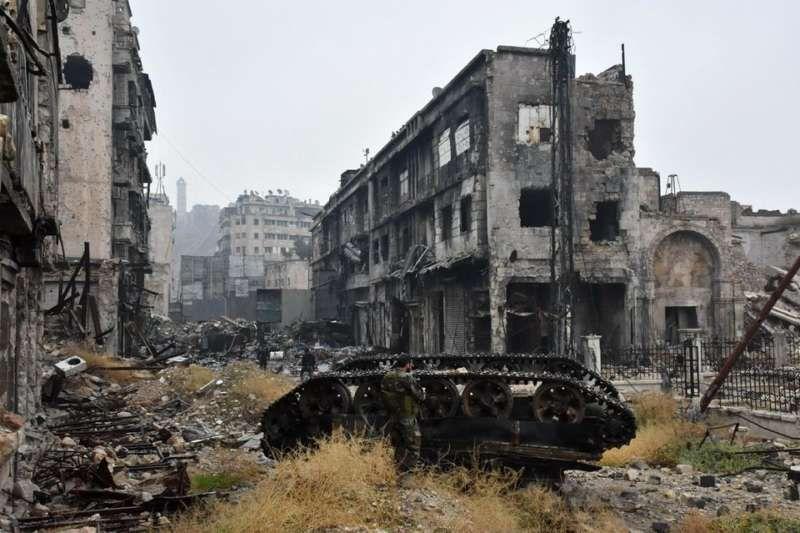 Alep, le 13 décembre 2016. Photo George Ourfalian. AFP
