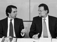 Aznar y Rajoy, los dos partidos que coexisten en el PP