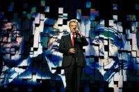 El presidente de Colombia Juan Manuel Santos en el concierto del Premio Nobel de la Paz 2016 en Oslo, el 11 de diciembre Credit Vegard Grott/European Pressphoto Agency
