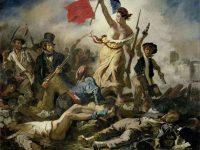 La Libertad guiando al pueblo, Eugène Delacroix, 1830.