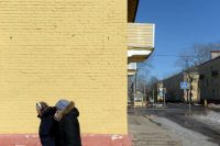 For Russians, Bleak Realities at Home
