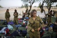 The Caracal battalion, two-thirds of whose members are women, was established in 2004. Amir Cohen/Reuters