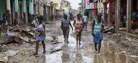 Una calle de Jeremie, Haití, afectada por el huracán Matthew. FRANCE PRESS