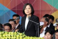 President Tsai Ing-wen of Taiwan. Her breach in protocol in calling President-elect Donald J. Trump carries a risk for her country. Chiang Ying-ying/Associated Press