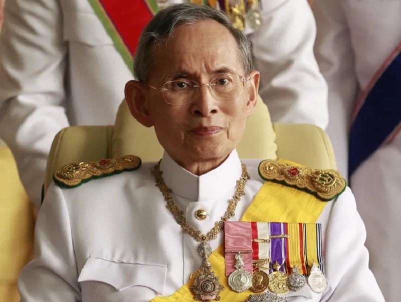 Thailand's late King Bhumibol Adulyadej in 2010. Sukree Sukplang/Reuters